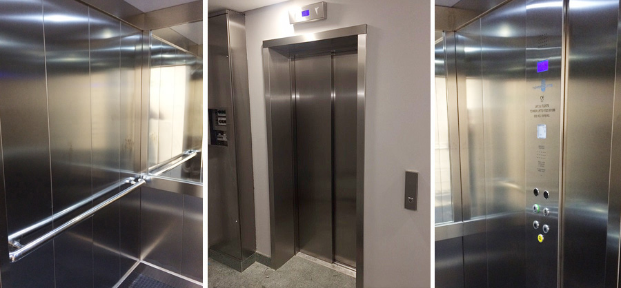 ELEVATORS AND SERVICE LIFT